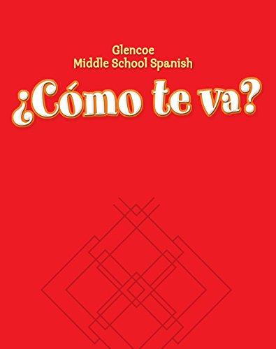 9780078605420: Como te va? : Workbook (Glencoe Middle School) (Spanish Edition)