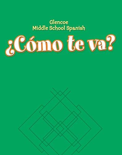9780078605499: ¿Cómo te va? Level A Nivel verde, Workbook (GLENCOE SPANISH) (Spanish Edition)