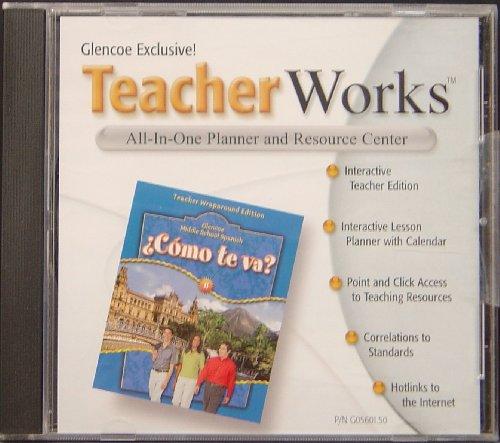 9780078605604: Teacher Works CD t/a Como te va? (All-In-One Planner & Resource Center)