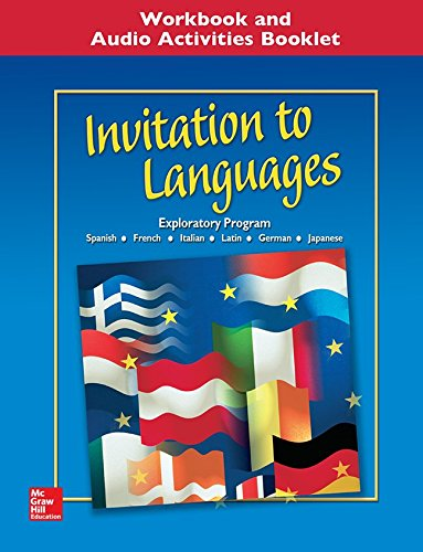 9780078605802: Invitation to Languages Workbook & Audio Activities Student Edition