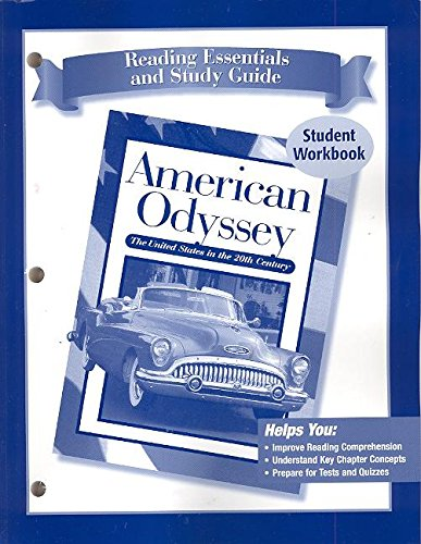 9780078605994: American Odyssey; Reading Essentials & Study Guide, SE