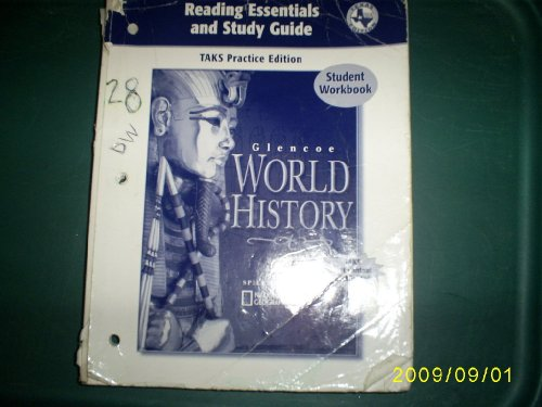 9780078606052: Glencoe World History, Reading Essentials and Study Guide, Workbook (Paperback) (Texas Edition)