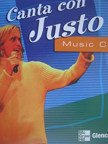 9780078606540: Canta con Justo Music CD (GLENCOE SPANISH)
