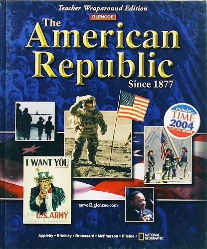 9780078607134: American Republic since 1877, Teacher