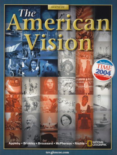 9780078607196: The American Vision, Student Edition