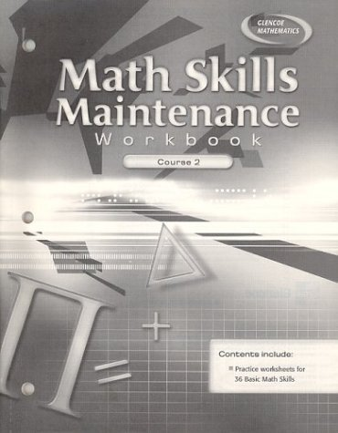 9780078607288: Math Skills Maintenance Workbook Course 2