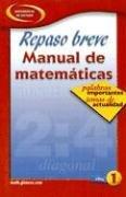 9780078607516: Repaso Breve Manual de Matematicas Libro 1: Palabras Importantes Temas de Actualidad: Hot Words, Hot Topics, Book 1, Spanish