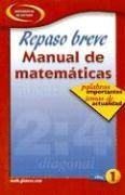 9780078607516: Quick Review Math Handbook: Hot Words, Hot Topics, Book 1, Spanish Student Edition