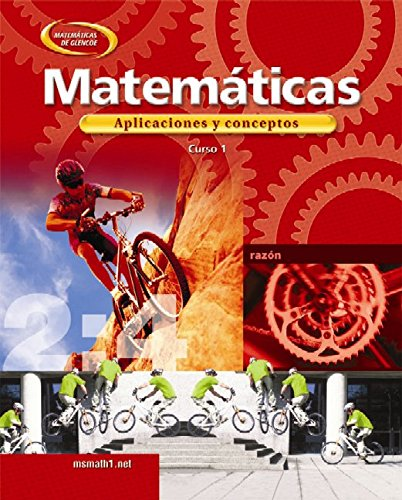 9780078607875: Mathematics: Applications and Concepts, Course 1, Spanish Student Edition