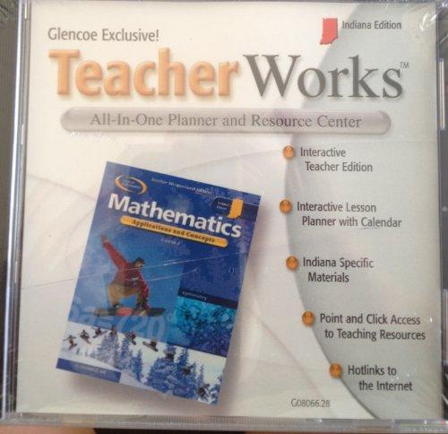 9780078608063: Glencoe Teacher Works Mathematics Indiana CD-ROM