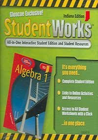 9780078608346: Glencoe Exclusive! Student Works: All-In-One Interactive Student edition and Studfent Resources : Indiana Edition