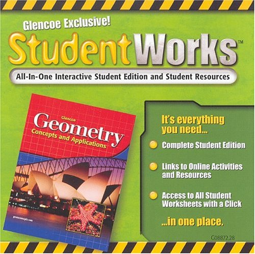 9780078608872: Geometry: Concepts and Applications, StudentWorks CD-ROM