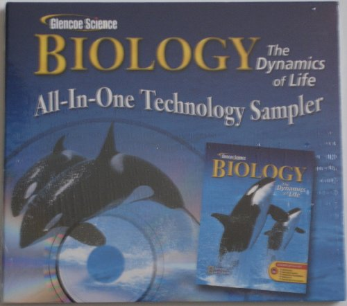9780078609947: Glencoe Science Biology the Dynamics of Life All-in-one Technology Sampler