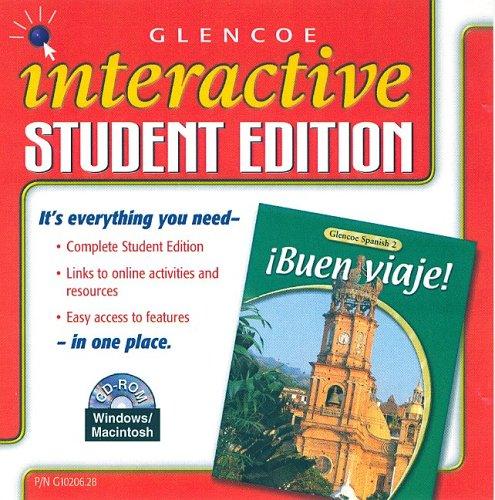 9780078610202: ¡Buen viaje! Level 2 Interactive Student Edition CD-ROM