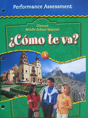 9780078610226: Glencoe Middle School Spanish: Performance Assessment, Level A