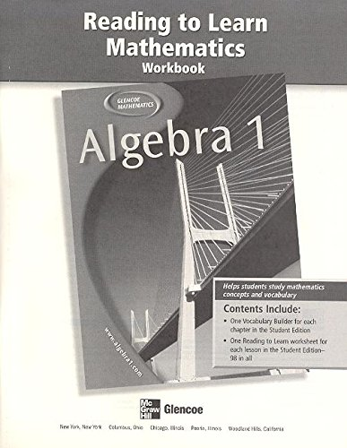 9780078610608: Algebra 1 Reading to Learn Mat