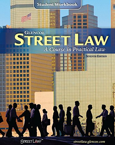 9780078612084: Street Law: A Course in Practical Law, Student Workbook