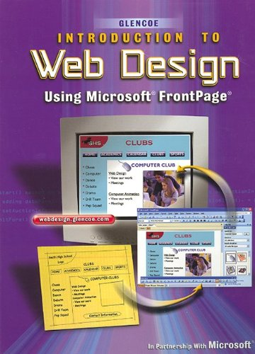 9780078612329: Introduction to Web Design Using MicroSoft FrontPage