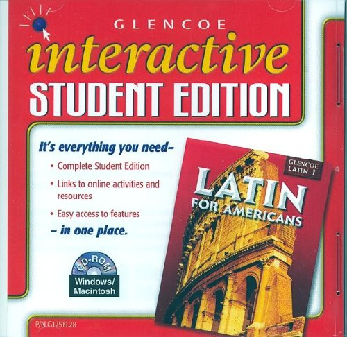 9780078612510: Latin for Americans Level 1, Interactive Student Edition CD-ROM