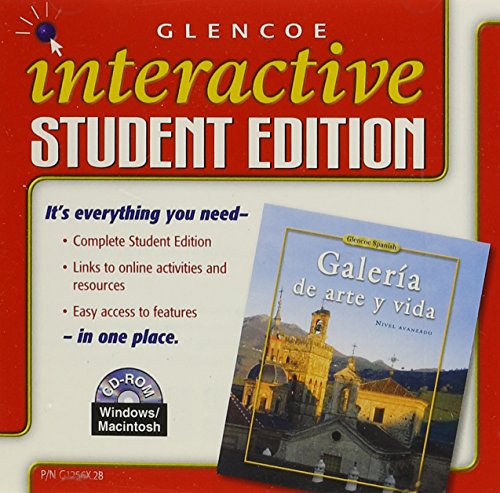 9780078612565: Galería de arte y vida, Interactive Student Edition CD-ROM (SPANISH LEVEL 4)
