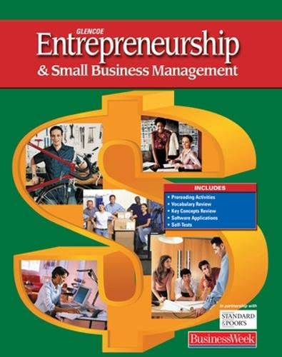 9780078613036: Entrepreneurship and Small Business Management, Student Edition