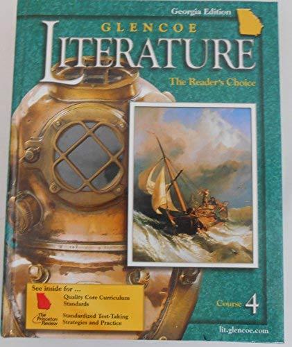 9780078613357: Glencoe Literature, Course 4