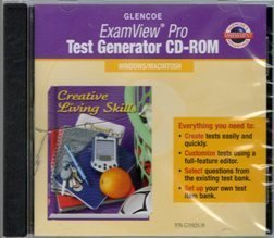 9780078615924: 2006 Glencoe Creative Living Skills Exam View Pro CD