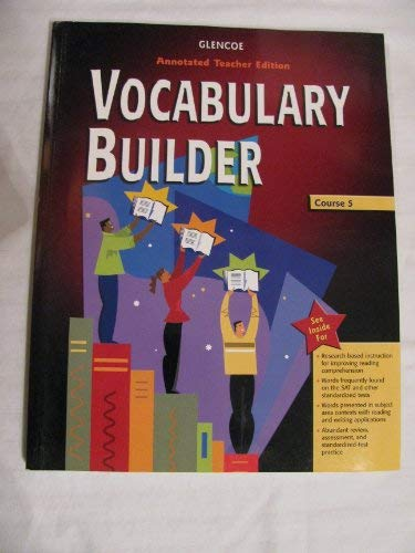 9780078616693: Glencoe Language Arts Vocabulary Builder, CR 5: Teacher's Annotated Edition, 2005