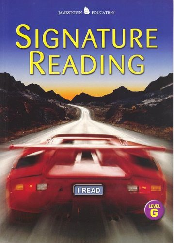 9780078617225: Jamestown Signature Reading, Student Edition, Level G (NTC: JT: RDG SKILLS & STRATEG)