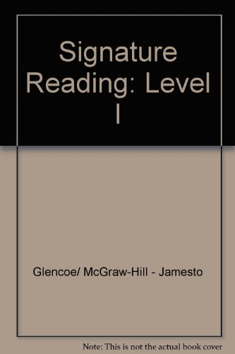 9780078617270: Signature Reading ~ Level I (Signature Reading, Level I)