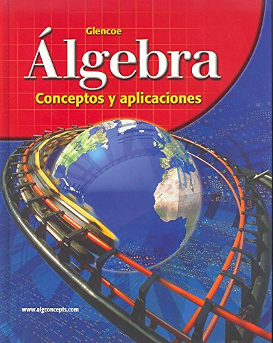 9780078618086: Algebra: Concepts and Applications, Spanish Student Edition (ALGEBRA: CONC. & APPLIC.) (Spanish Edition)