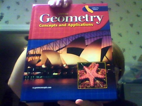 9780078618215: Geometry: Concepts and Applications California Edition