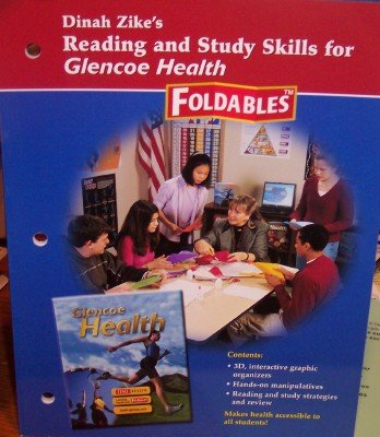 9780078618703: Dinah Zike's Reading and Study Skills for Glencoe Health: Foldables