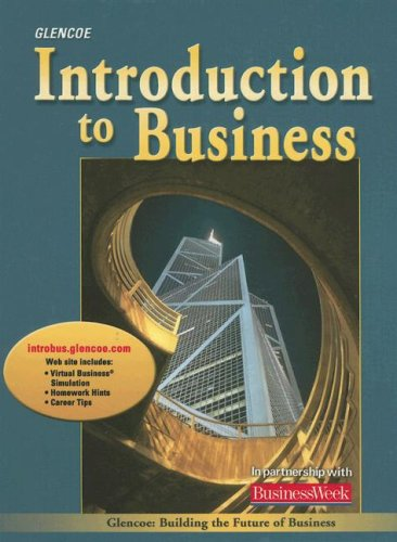 9780078618772: Introduction to Business, Student Edition (BROWN: INTRO TO BUSINESS)