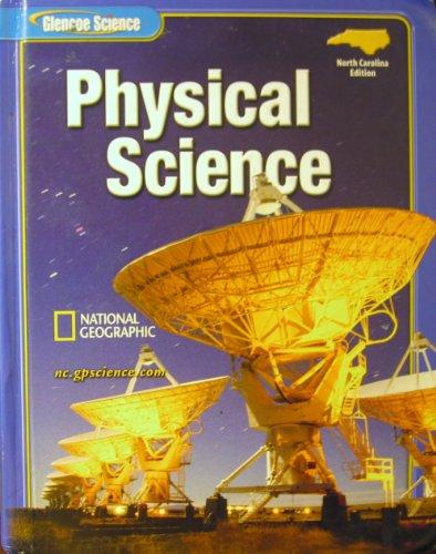 9780078619038: Glencoe Physical Science North Carolina Student Edition (Glencoe Science)