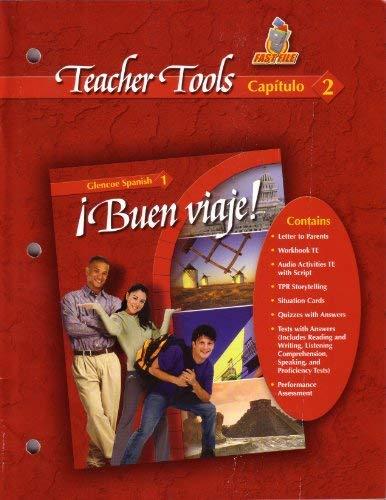 9780078619564: Buen Viaje Glencoe Spanish 1 Teacher Tools Capitulo 2 (Glencoe Spanish, Buen Viaje, Spanish 1)