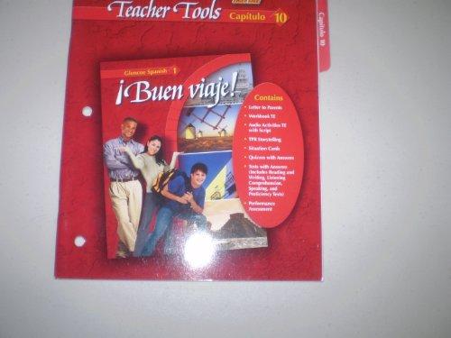 9780078619649: Buen Viaje Teacher Tools Fast File Capitulo 10 Glencoe Spanish 1