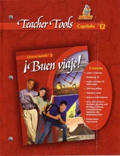 9780078619663: Buen Viaje Teacher Tools Fast File Capitulo 12 Glencoe Spanish 1