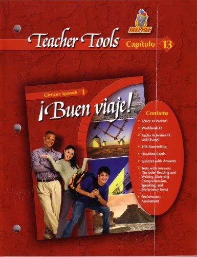 9780078619670: Buen Viaje Teacher Tools Fast File Capitulo 13 Glencoe Spanish 1