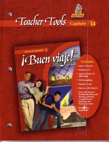 9780078619687: Buen Viaje Teacher Tools Fast File Capitulo 14 Glencoe Spanish 1