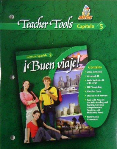 9780078619793: Buen Viaje! Glencoe Spanish 2 - Teacher Tools - Capitulo 5