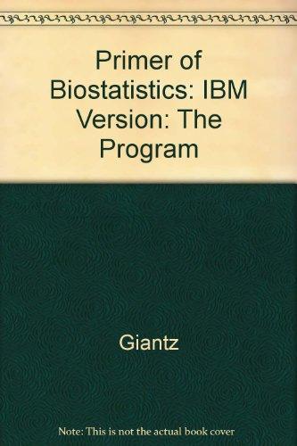 9780078641244: Primer of Biostatistics