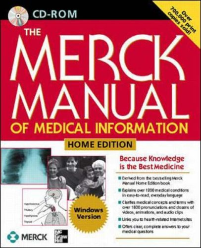 9780078642852: The Merck Manual of Medical Information: Home Edition (CD Rom)