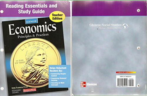 9780078650444: Reading Essentials and Study Guide for Glencoe Economics: Principles and Practices