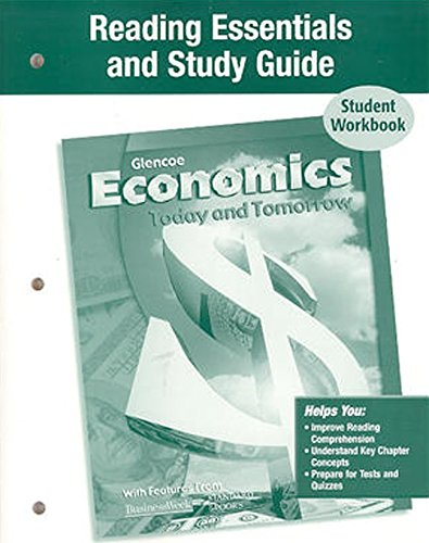 9780078650635: Economics Today and Tomorrow, Reading Essentials and Study Guide, Workbook (ECONOMICS TODAY & TOMORROW)