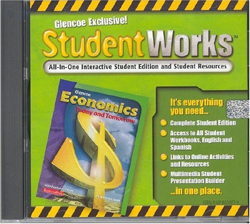 9780078650734: Economics, Today and Tomorrow, StudentWorks CD-ROM (ECONOMICS TODAY & TOMORROW)