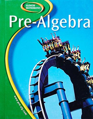 9780078651083: Glencoe Pre-Algebra, Student Edition (Glencoe Mathematics)