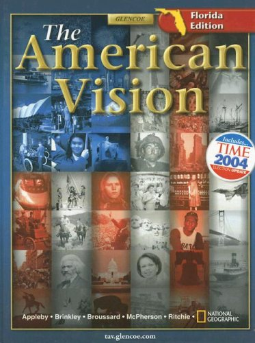 9780078652813: The American Vision - Florida Edition