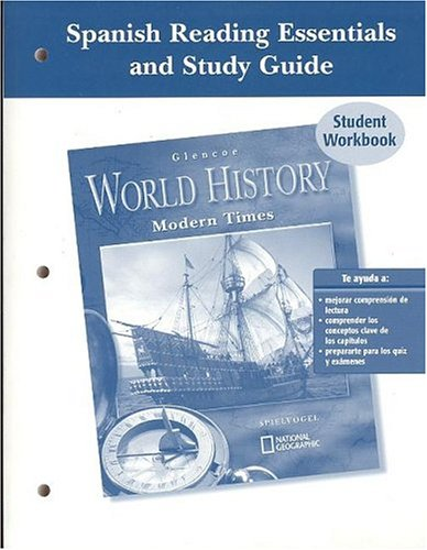 9780078652950: Glencoe World History Spanish Reading Essentials and Study Guide Student Workbook: Modern Times