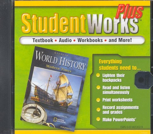 Glencoe World History, Modern Times, Studentworks Plus: McGraw-Hill Education